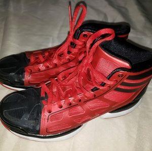 Adidas Adizero midtop sneakers